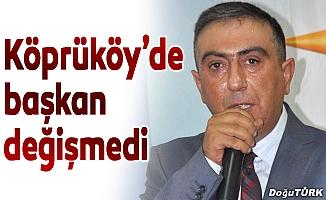 AK Parti Köprüköy İlçe kongresi yapıldı