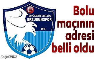 BB Erzurumspor - Boluspor maçı orada oynanacak