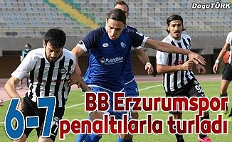 BB Erzurumspor penaltılarla turladı