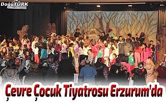 Çevre Çocuk Tiyatrosu Erzurum'da