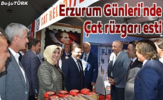 Erzurum Tanıtım Günleri'nde Çat rüzgarı esti