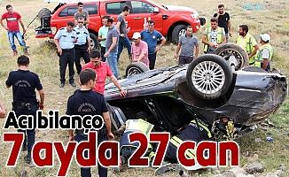 Erzurum'da 7 ayda 27 kayıp