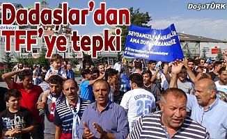 Erzurum'dan TFF'ye turnike tepkisi