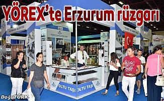 YÖREX'te Erzurum rüzgarı