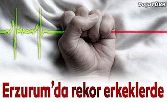 Erzurum'da rekor erkek ölümlerinde