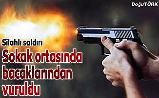 Erzurum'da silahlı saldırı: 1 yaralı