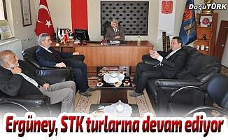 ETSO Başkan Adayı Ergüney, STK turlarına devam ediyor