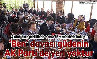 """PKK yere serilmiş paspas gibi"""
