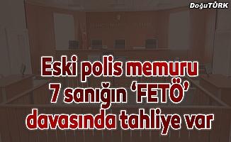 """Erzurum'da eski polis memuru 7 sanığın """"FETÖ"""" davası"""