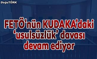 """Erzurum'da FETÖ'nün """"usulsüzlük"""" davası"""