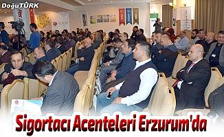12. Sigortacı Acentecileri Zirvesi Erzurum'da toplandı