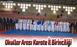 Okullar Arası Karate İl Birinciliği