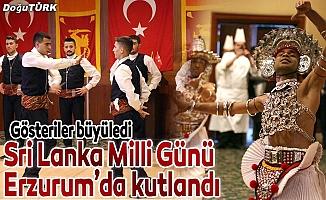 Sri Lanka Milli Günü Erzurum'da kutlandı