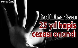 Cinsel istismardan 25 yıla mahkum edilen öğretmenin cezası onandı