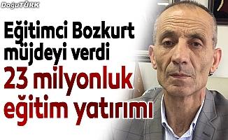 Erzurum'a 23 milyonluk eğitim yatırımı