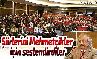 Şiirlerini Afrin'deki Mehmetçikler için seslendirdiler