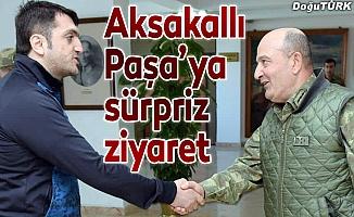 Aksakallı Paşa'ya sürpriz ziyaret