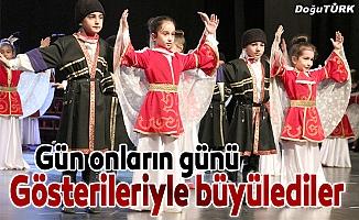 """Doğu Anadolu'da """"23 Nisan"""" coşkuyla kutlandı"""