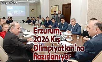Erzurum, 2026 Kış Olimpiyatları'na hazırlanıyor