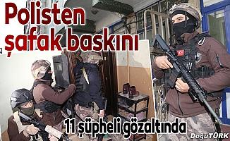 """Erzurum'da göçmen kaçakçılarına """"drone""""lu operasyon"""