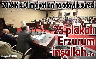 Erzurum'un 2026 Kış Olimpiyatları'na adaylık süreci