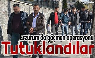 Kaçak göçmen operasyonunda 4 kişi tutuklandı