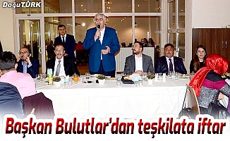 Başkan Bulutlar, Ak Parti teşkilatına iftar yemeği verdi