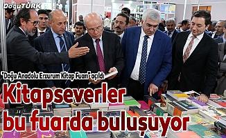 """""""Doğu Anadolu Erzurum Kitap Fuarı"""" açıldı"""