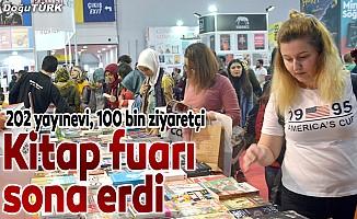 """""""Doğu Anadolu Erzurum Kitap Fuarı"""" sona erdi"""