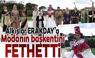 Erzurum Ehramı modanın başkentinde görücüye çıktı