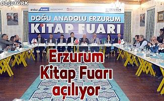 Erzurum Kitap Fuarı açılıyor