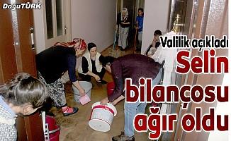 Erzurum'da sel felaketinin bilançosu ağır oldu