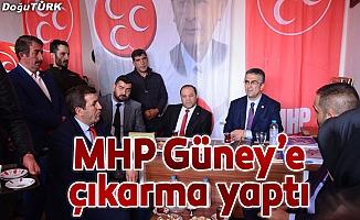 MHP Karayazı, Karaçoban ve Hınıs'a çıkarma yaptı