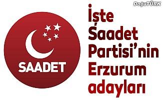 SP Erzurum adayları açıklandı