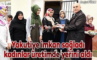 Yakutiye imkan sağladı, Dadaşköy kadınları üretimde yerini aldı