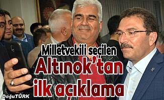 Altınok AK Parti'den milletvekili seçildi