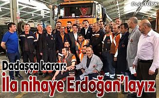 Aydemir: Dadaşça karar: İla nihaye Erdoğan'layız