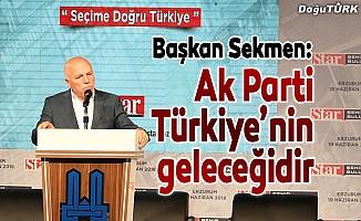 Başkan Sekmen: Ak Parti Türkiye'nin geleceğidir