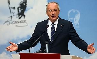 CHP'nin cumhurbaşkanı adayı İnce: Seçim sonuçlarını kabul ediyorum