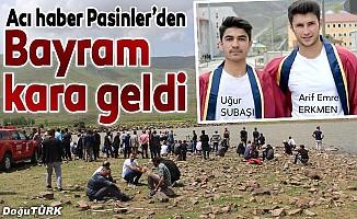 Erzurum'da 2 lise öğrencisi boğuldu