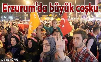 Erzurum zaferi kutladı