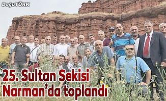 25. Sultan Sekisi Narman'da toplandı