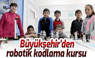 Büyükşehir'den robotik kodlama kursu