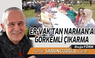 ER-VAK'TAN NARMAN'A GÖRKEMLİ ÇIKARMA