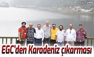 Erzurum Gazeteciler Cemiyeti'nden Karadeniz çıkarması