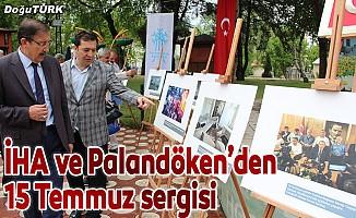 İhlas Haber Ajansı 15 Temmuz Sergisi Palandöken'de açıldı
