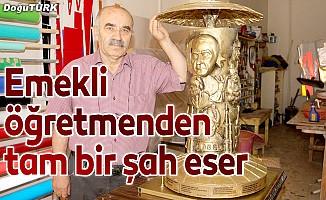 12 Türk büyüğünü rölyef çalışmasına yansıttı