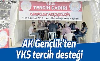 AK Gençlik'ten YKS tercih desteği