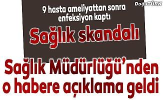 Erzurum İl Sağlık Müdürlüğü'nden açıklama