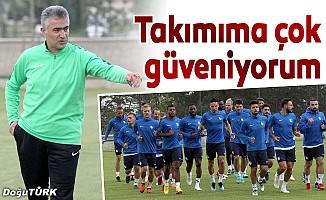 Erzurumspor'da Atiker Konyaspor maçı hazırlıkları